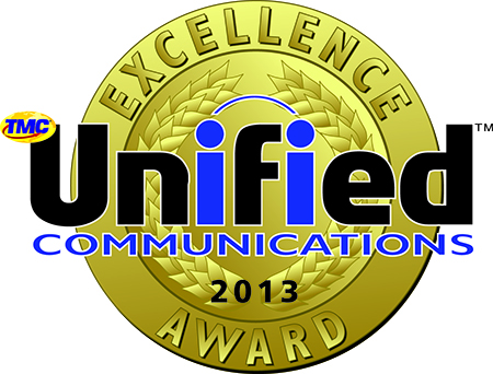 2013 Unified Communications Excellence Award