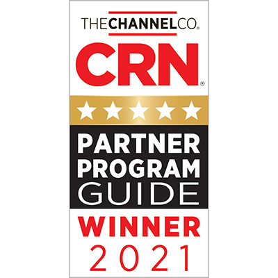 5-Star Rating in the 2021 CRN® Partner Program Guide For 7th Consecutive Year