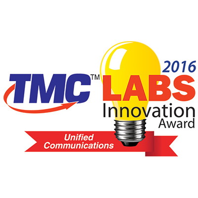 TMC Labs Innovation Award For Unified Communications