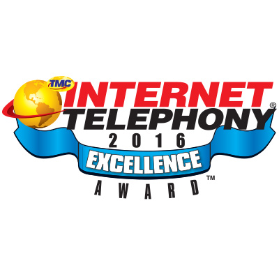 Internet Telephony Excellence Award For Unique Hybrid Architecture