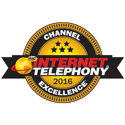 2016 INTERNET TELEPHONY Channel Excellence Award