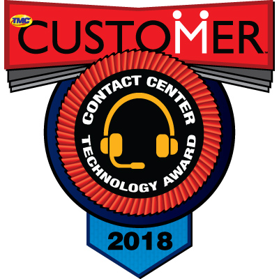 2018 Contact Center Technology Award