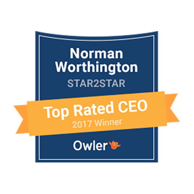 Owler 2017 Top Rated CEO