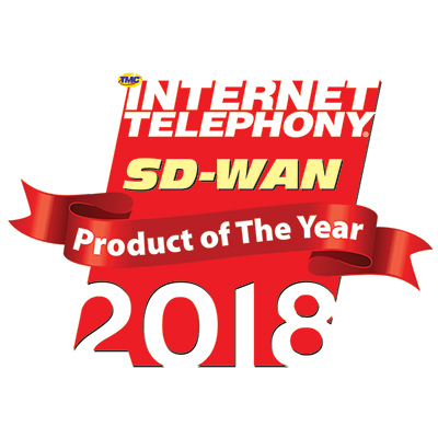 2018 SD-WAN Product Of The Year Award