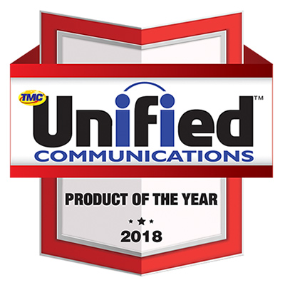 2018 Unified Communications Product Of The Year Award