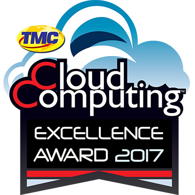 2017 Cloud Computing Excellence Award For Innovative Cloud Solutions