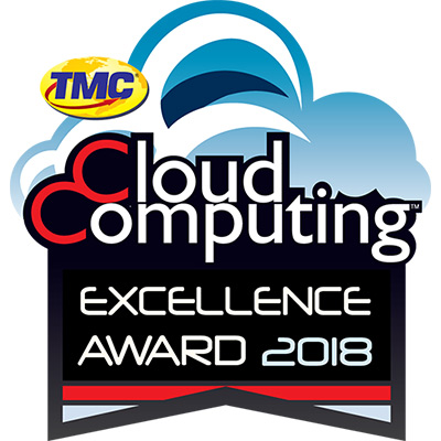 2018 Excellence Award from Cloud Computing Magazine