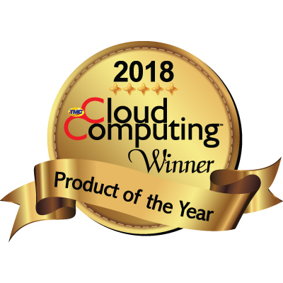 2018 Cloud Computing Product Of The Year Award