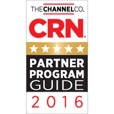 5-Star Rating in CRN's 2016 Partner Program Guide