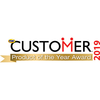 2019 CUSTOMER Magazine Product of the Year Award