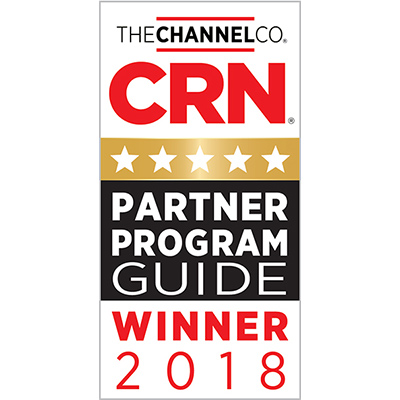 5-Star Rating In CRN's 2018 Partner Program Guide