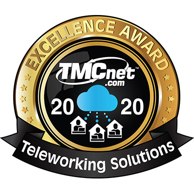 TMCnet Teleworking Solutions Excellence Award