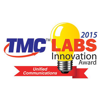 2015 Unified Communications TMC Labs Innovation Award