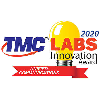 2020 Unified Communications TMC Labs Innovation Award