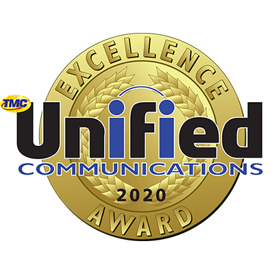 2020 Unified Communications Excellence Award from INTERNET TELEPHONY Magazine