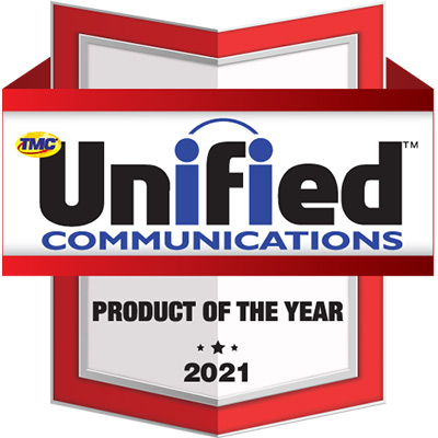 2021 Unified Communications Product of the Year Award