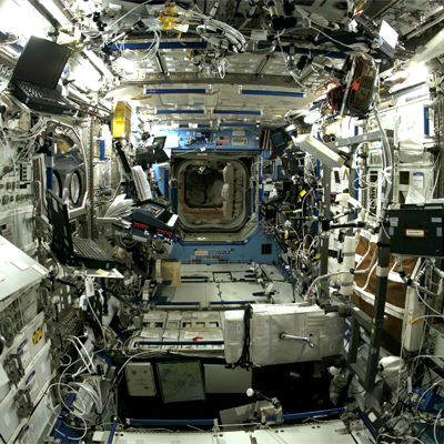 Inside of ISS
