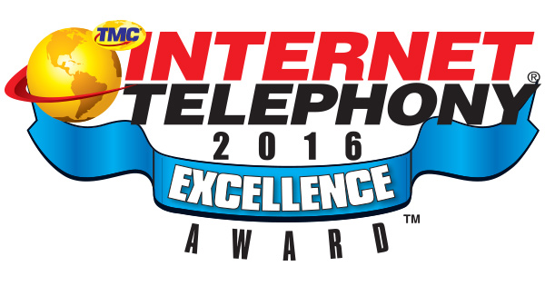 Internet Telephony Excellence Award For Unique Hybrid Architecture 2016