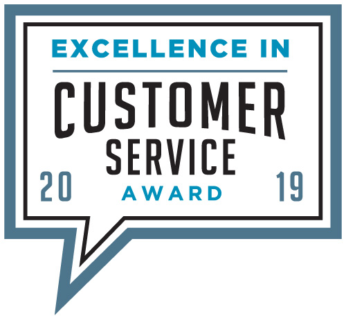 2019 Excellence In Customer Service Award