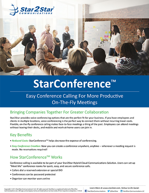 StarConference™